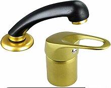 ATCO® Free gold HD Friseur Wasserhahn Waschbecken