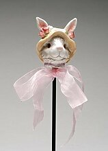 ATD® 3021031,8cm weiß Mommy Bunny Pflanzstab