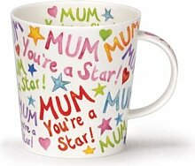 Atemberaubende Tasse aus feinem Dunoon-Porzellan