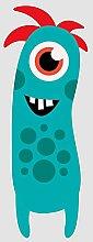 atFoliX Aufkleber Monster Benny Größe XL FX-Sticker (Luftkanaltechnologie - wieder ablösbar)