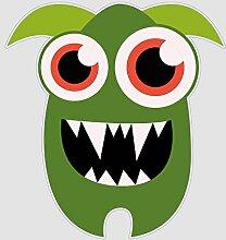 atFoliX Aufkleber Monster Daniel Größe L