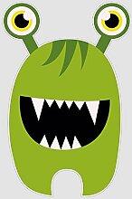 atFoliX Aufkleber Monster Jim Größe XL