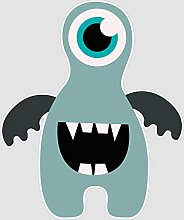 atFoliX Aufkleber Monster Nick Größe XL