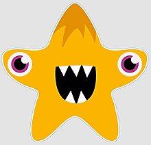 atFoliX Aufkleber Monster Patrick Größe L