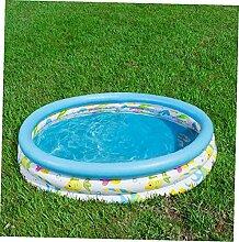 Athemeet Paddling Inflatable Pool Runde Kiddie