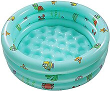 Athemeet Paddling Pool Aufblasbare 3-Ringe Baby