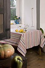 Athen Home Textile Moira–Tischdecke aus 160 x 160 cm gelb