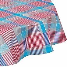 Athen Home Textile NIC 897. RDO–Tischdecke aus 160 x 160 cm türkis