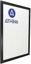 Athena Bilderrahmen, 60 x 80 cm, Mattschwarz
