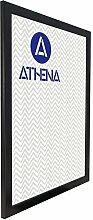 Athena Bilderrahmen, A2, 59,4 x 42 cm, satiniert,