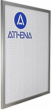Athena Bilderrahmen, A2, 59,4 x 42 cm, silberfarben