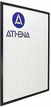 Athena Bilderrahmen, dünn, 60 x 80 cm, Satin,