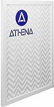 Athena Bilderrahmen, dünn, matt, 30 x 40 cm, Weiß