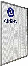 Athena Bilderrahmen, dünn, silberfarben, 60 x 80