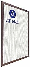 Athena Bilderrahmen Mahagoni, A1, 59,4 x 84 cm,
