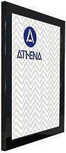 Athena Glanzschwarz Bilderrahmen, 40 x 50 cm