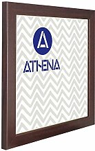 Athena Mahagonifarbe Bilderrahmen, 50 x 50 cm,