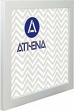 Athena Matt Weiss Bilderrahmen, 60 x 60 cm
