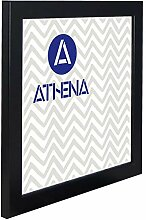 Athena Satinschwarz Bilderrahmen, 40 x 40 cm