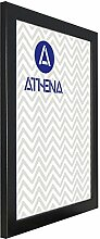 Athena Satinschwarz Bilderrahmen, 40 x 50 cm