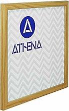 Athena Schmal Eiche Farbe Bilderrahmen, 50 x 50 cm