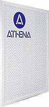 Athena Schmal Matt Weiss Bilderrahmen, 50 x 70 cm