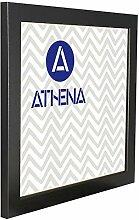 Athena Schwarz Ash Bilderrahmen, 40 x 40 cm