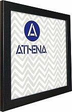 Athena Schwarz Esche Bilderrahmen, 50 x 50 cm