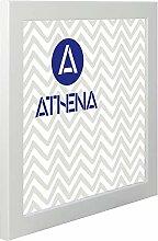 Athena Weiß glänzend Bilderrahmen, 50 x 50 cm,