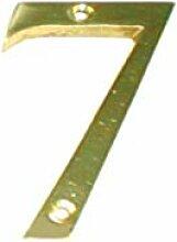 Athor 4256 Hausnummer Messing, 7 Zoll, 175 mm