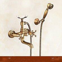 Athraoay Wasserhahn Bad Waschtischarmatur Antike