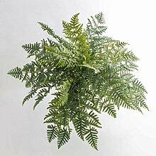 Athyrium Farn RENE, 45 Blätter, grün, auf Steckstab, 75 cm, Ø 90 cm Künstliche Pflanze / Kunst Farn - artplants