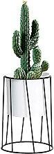 Atlnso Metall Pflanze Stehen mit Blumentopf