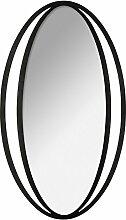 ATMOSPHERA Wandspiegel Oval 56 x 97 cm Metal