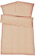 Atmungsaktive Mako Perkal Sommerbettwäsche 135 x
