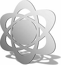 Atomic Symbol Acryl Spiegel, acryl, 300 x 269mm
