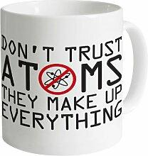 Atoms Becher, Weiß