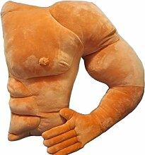 ATpart Boyfriend Arm-Styling Muscle Herren Plüsch