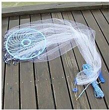 ATR Frisbee-Wurfnetz Angelschnur Handfisch
