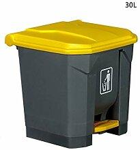 ATR Mülleimer, Pedal-Mülleimer im Freien,