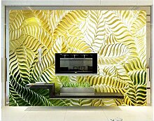 ATR Tapete 3D für Raum-Bananenblatt-Farbe, die