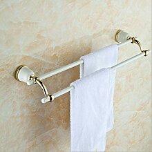 ATR Weißgold-Messing Handtuchhalter