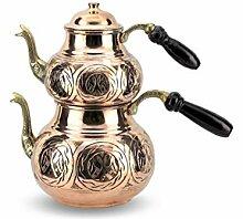 ATYBO Türkische Teekanne Arabische Teekannen