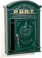 aubaho Briefkasten Wandbriefkasten Alu Nostalgie