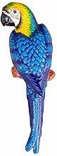 aubaho Eisenfigur Papagei Ara Statue Figur