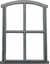 aubaho Fenster grau Stallfenster Eisenfenster