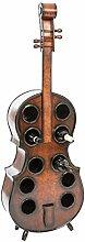 aubaho Flaschenregal Cello 135cm Holz Weinregal