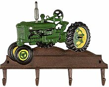 aubaho Kleiderhaken Traktor Wandgarderobe