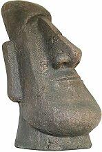 aubaho Moai Skulptur Figur Garten Antik-Stil 63cm