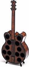 aubaho Weinregal 124cm Gitarre Weinständer